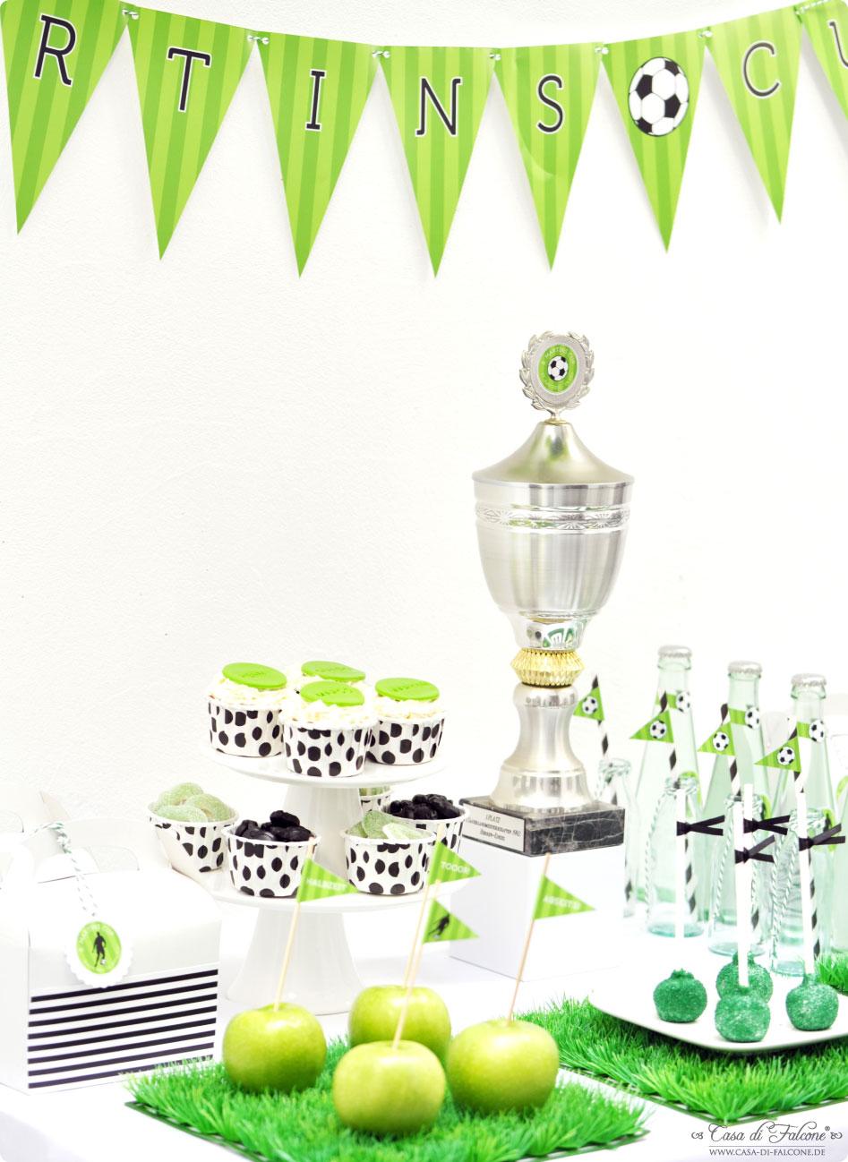 Partythema Kindergeburtstag Soccer Cup