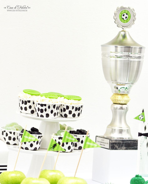 """Partythema """"Soccer Cup"""" zum Kindergeburtstag"""