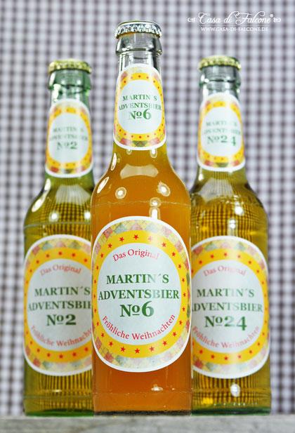 personalisierte Flaschenaufkleber