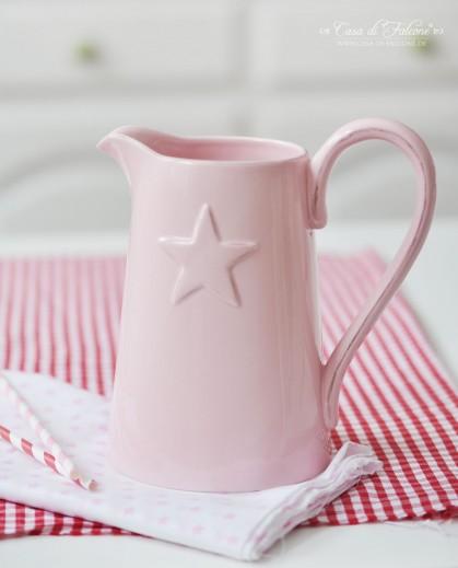 Rosa Kanne mit Stern
