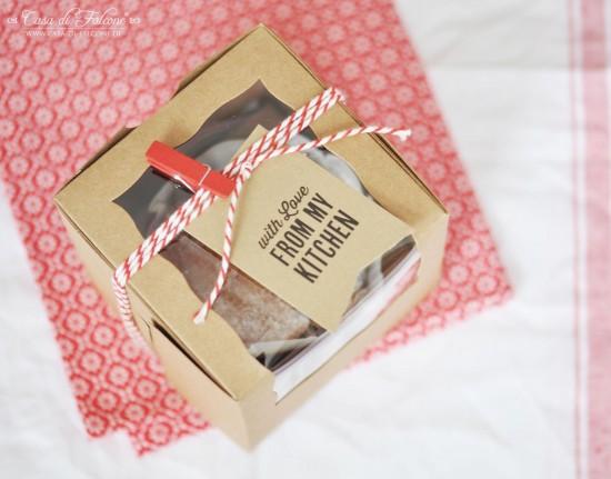 Cupcake Box aus Kraftpapier