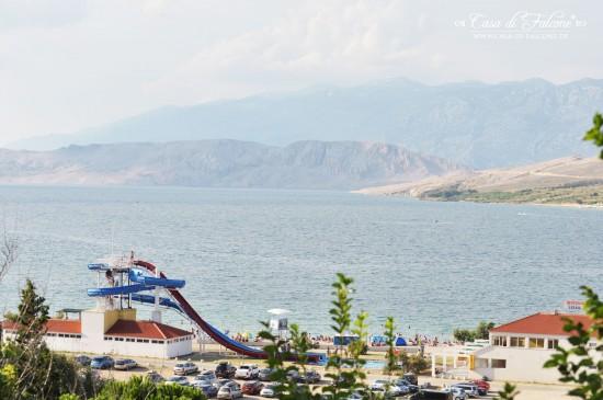 kroatien Pag strand prosika