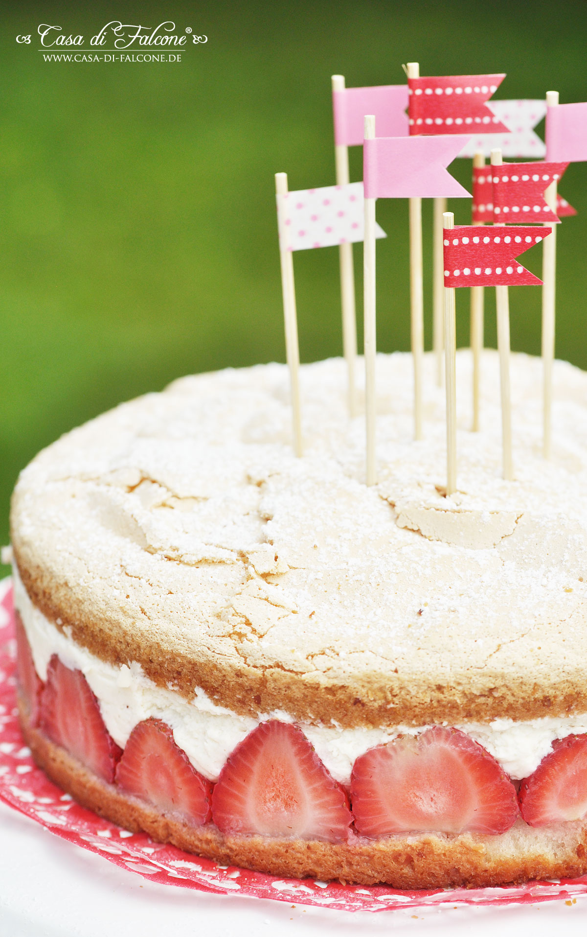 Erdbeer Mascarpone Torte Casa Di Falcone