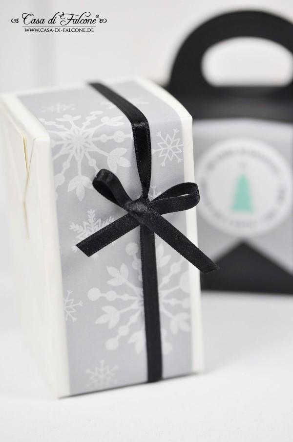 Verpackungsideen  grau-schwarz & neue Masking Tapes und Stempel