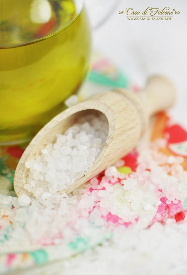 Körper Peeling selbstgemacht I homemade body scrub I Geschenke aus der Küche I Gastgeschenke I Casa di Falcone