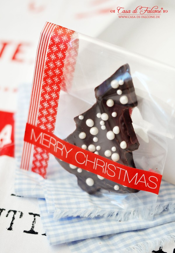 Schokobäumchen I Geschenke aus der Küche I homemade git I Casa di Falcone