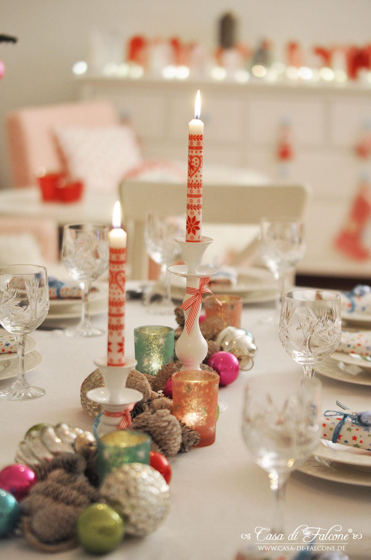 Unser weihnachtstisch casa di falcone for Weihnachtstisch dekorieren
