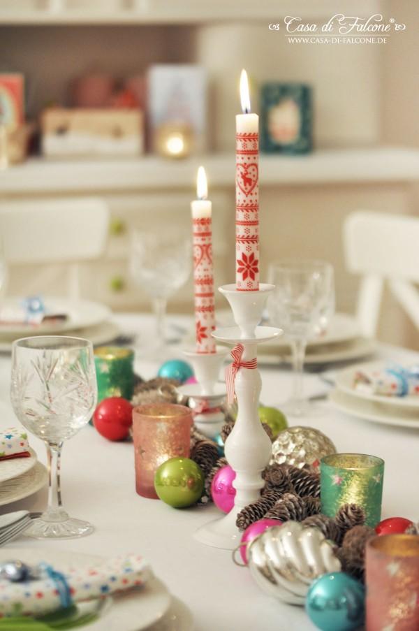 Weihnachtstisch I Christmas table I Weihnachtsdeko I Casa di Falcone