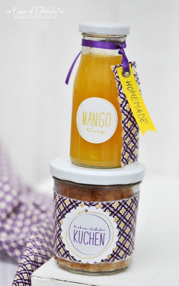 Mangosirup I Geschenke aus der Küche I Casa di Falcone