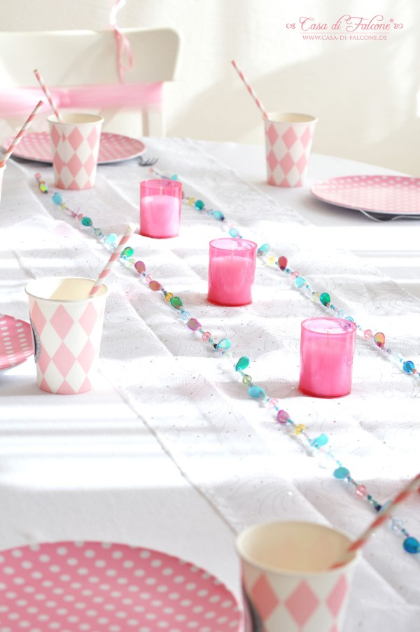 Prinzessin Party I Sweet Table I Kindergeburtstag I Casa di Falcone