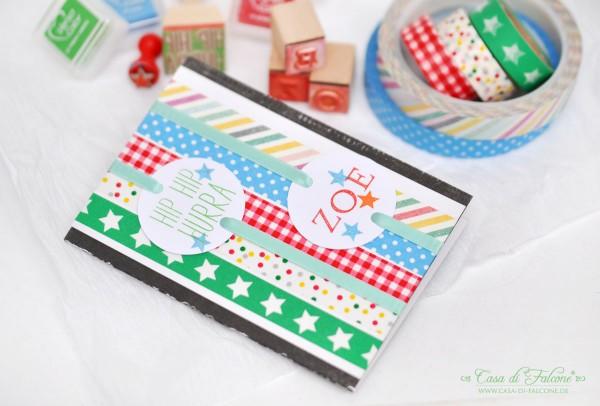Geburtstagskarte I Geschenkverpackung I Kindergeburtstag I Casa di Falcone