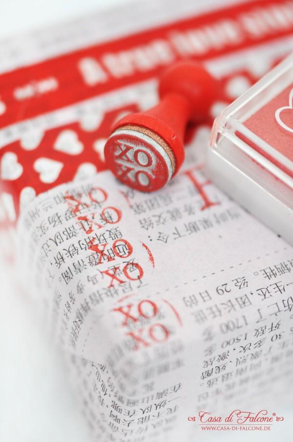 Ministempel I Masking Tapes I Geschenkverpackung I Valentinstag I Hochzeit I Casa di Falcone