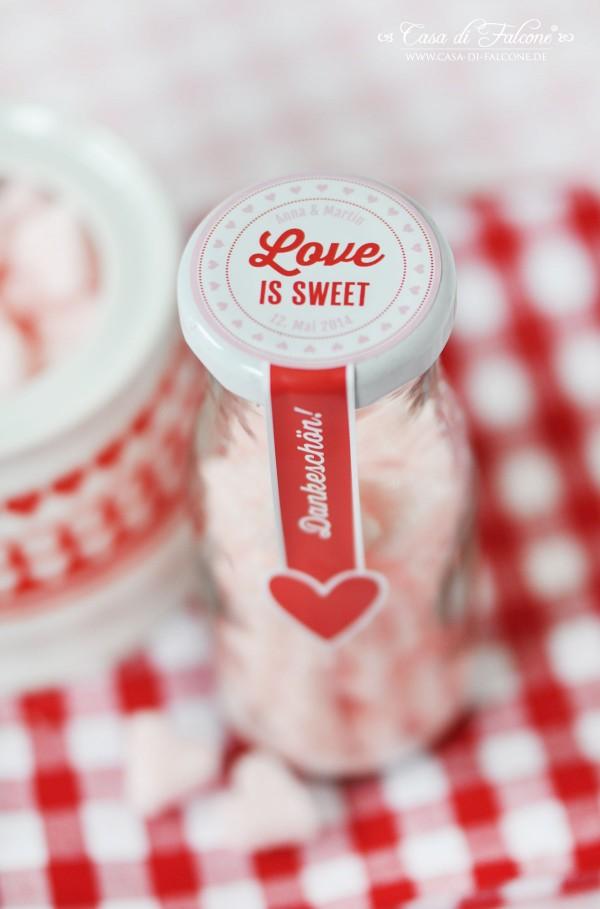 DIY Zuckerherzen I Valentinstag I Hochzeit I Gastgeschenk I Casa di Falcone