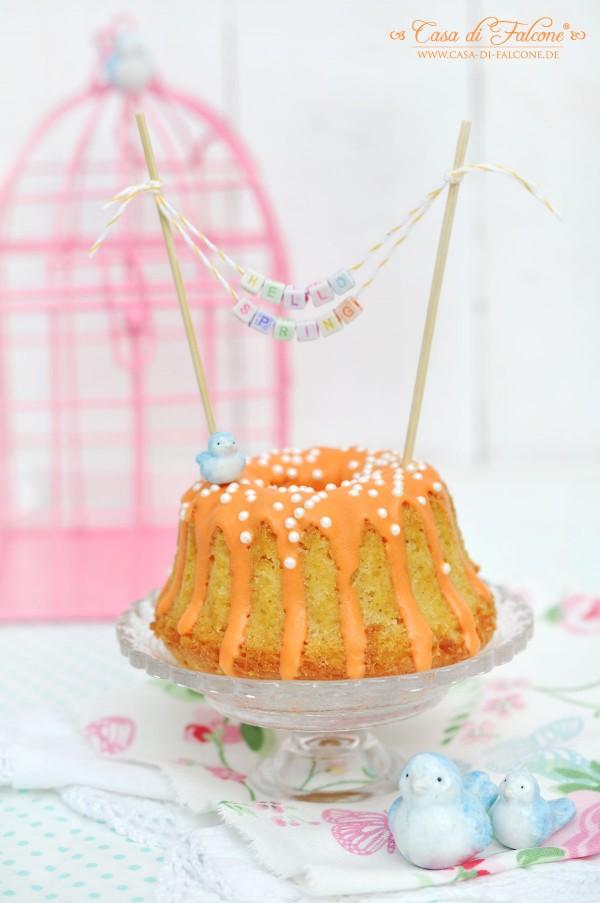 Gugl I Rührkuchen {Rezept} I Cake Topper I Buchstabenwürfel I Casa di Falcone