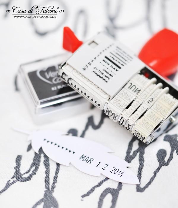 Lasercut feder I Geschenkschachtel I Geschenverpackung I Casa di Falcone