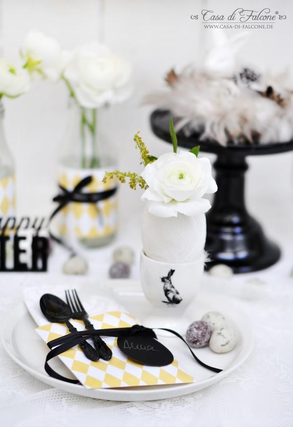 Tischdeko I Osterdeko I easter table setting I easter table Decoration