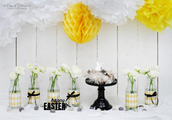 Tischdeko I Osterdeko I easter table setting I easter table Decoration