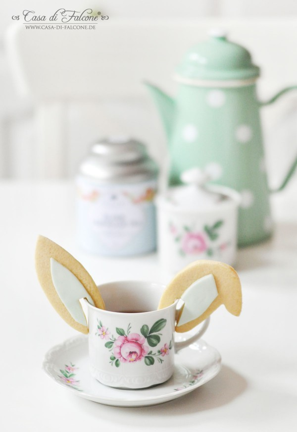 Tassenkekse Hasenohren I Osterkekse I Keksverpackung I DIY Teebeutel I Casa di Falcone