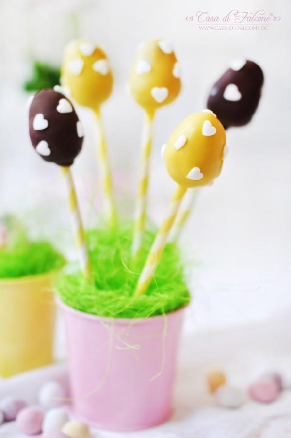 Ostereier Cake Pops {veganes Rezept} I Osterbäckerei I Geschenke aus der Küche I Casa di Falcone