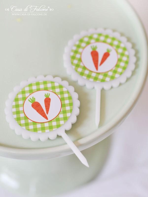 Caketopper aus Acryl I Cupcake Topper I Casa di Falcone