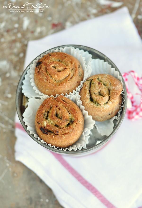 Bärlauch-Parmesan-Schnecken {Rezept} I Geschenke aus der Küche I Verpackungsidee I Casa di Falcone