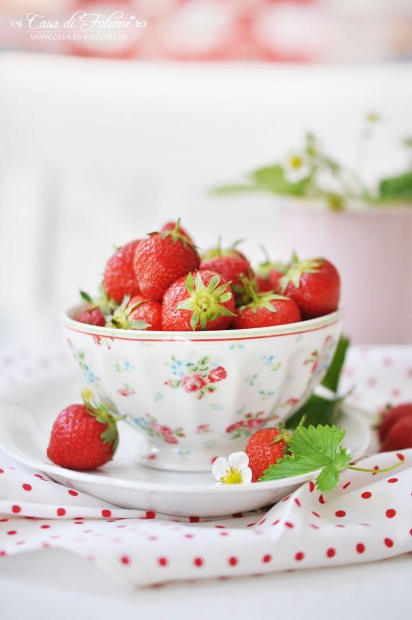 Gartenerdbeeren & Ombre Erdbeer-Popsicles {Rezept}