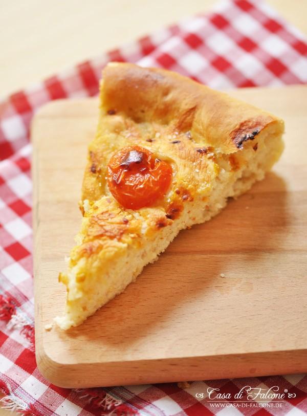 La cucina italiana Í Focaccia mit Tomaten {Rezept} I Casa di Falcone
