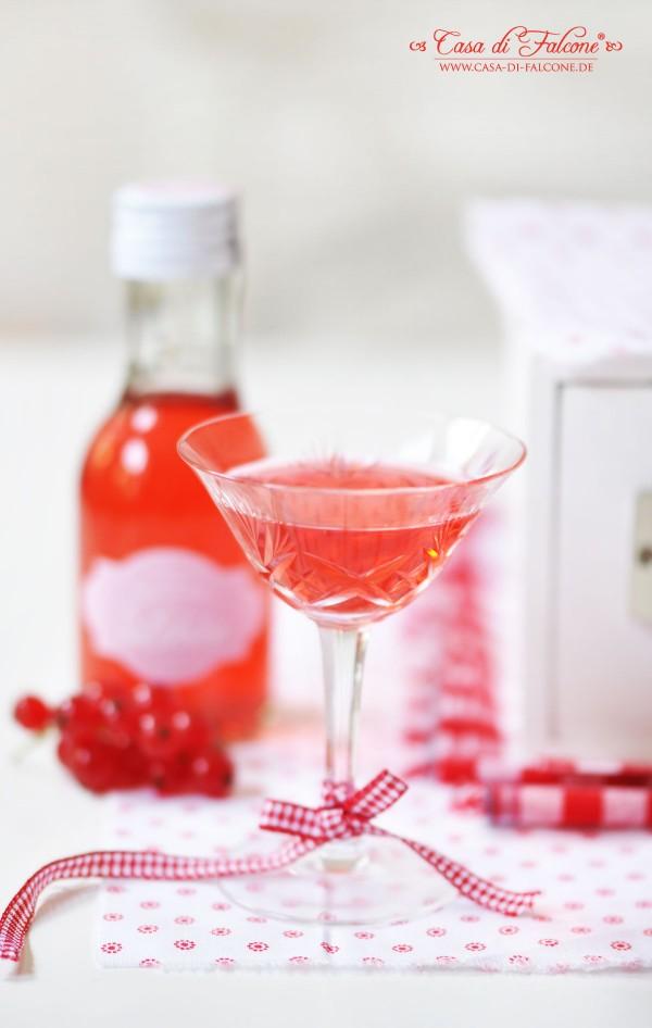 Johannisbeer-Likör {Rezept} & Verpackungsidee I Geschenke aus der Küche I Casa di Falcone