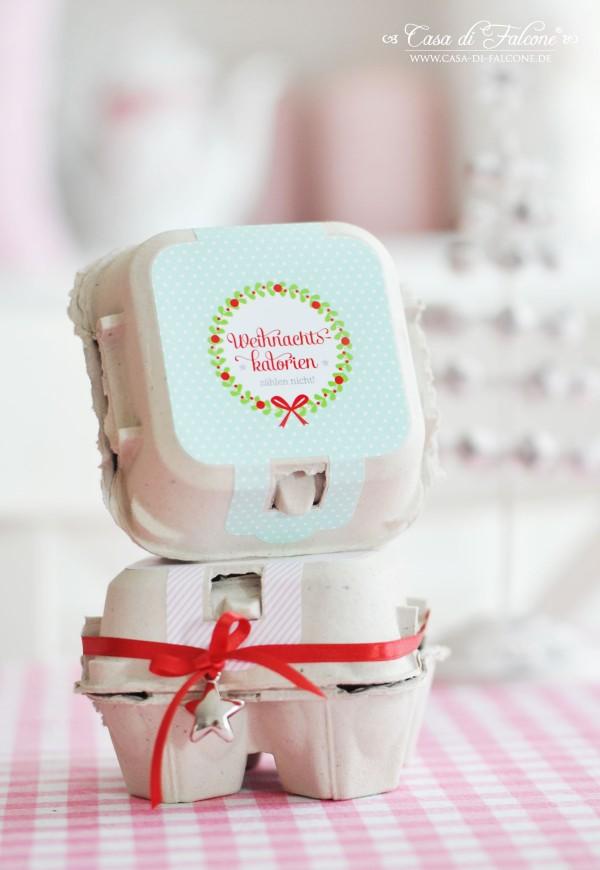 Eierbox I Schachtel für MiniGugl I Casa di Falcone