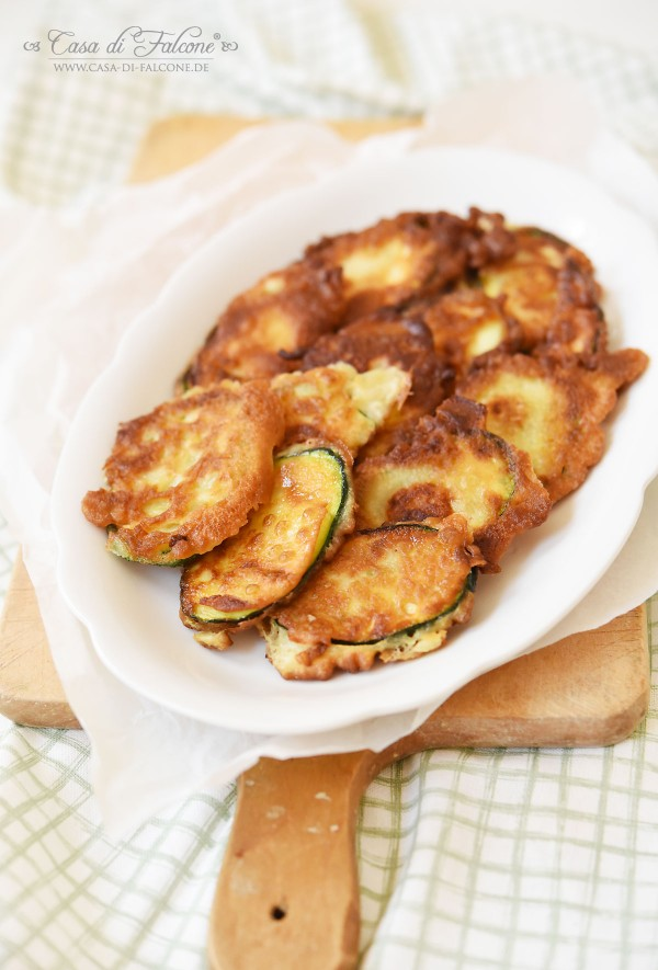 Gebackene Zucchini I La cucina italiana I Rezept von Casa di Falcone