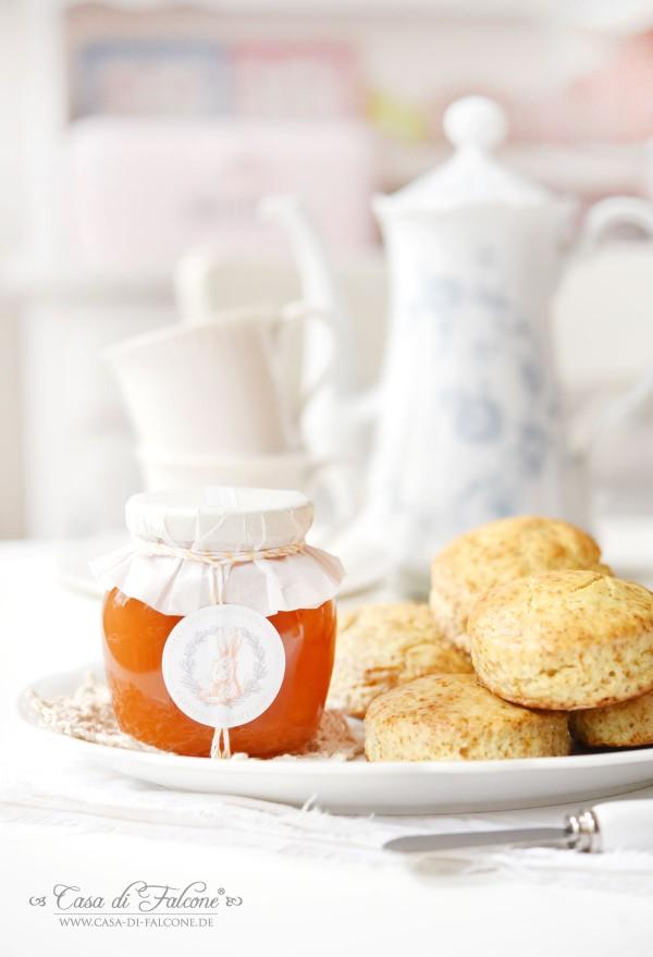 Karottenmarmelade Rezept I freebie Marmeladenetiketten ICasa di Falcone