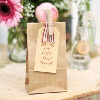 Hochzeitsstempel Ranke I rustikale Gastgeschenke