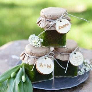 Pesto I Gastgeschenke Hochzeit