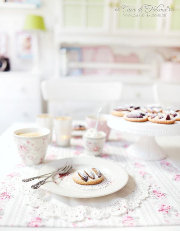Pflaumen-Cookies mit Zimtsahne {Rezept} I Casa di Falcone