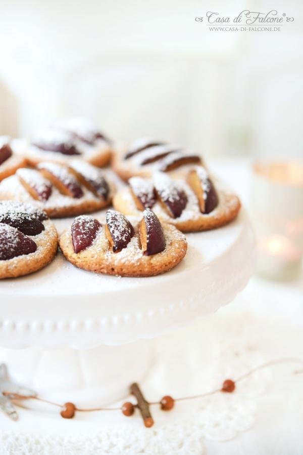 Pflaumen-Cookies mit Zimtsahne {Rezept}