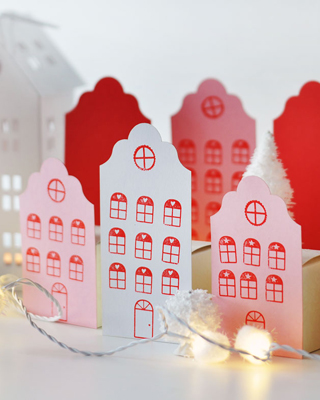 Adventskalender No. 15 – Häuserstadt DIY