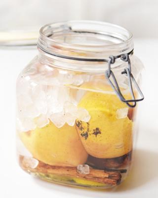 Bratapfel-Likör Rezept
