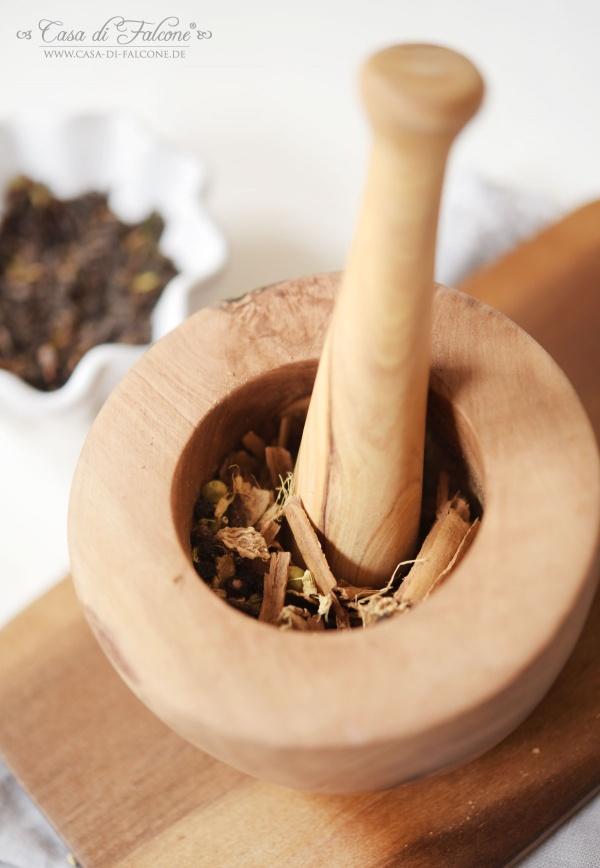 Chai Latte Teemischung {Rezept} & Verpackungsidee I Casa di Falcone