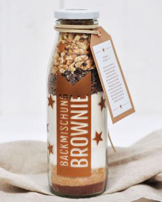 Backmischung für Brownies Rezept
