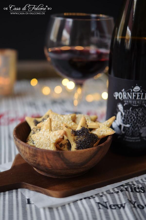 Parmesankekse  I Kekse zum Rotwein I Casa di Falcone