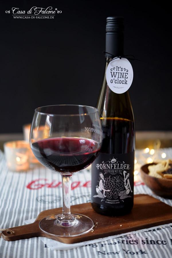 Rotwein Pornfelder erhältlich im Casa di Falcone Lädchen, Neheim-Arnsberg