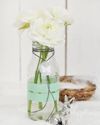 Schlichte Blumenvasen