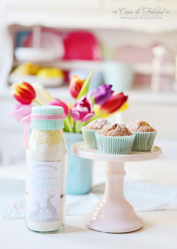 Backmischung Eierlikör Muffins I Casa di Falcone